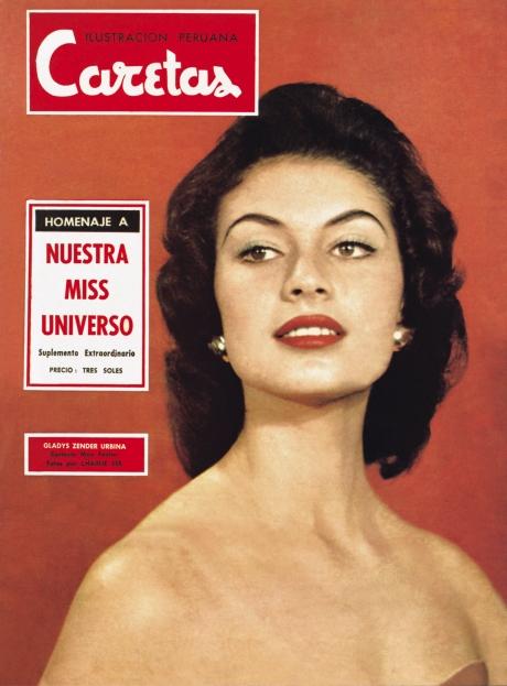 Gladys Zender, la más bella.