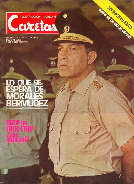 Morales Bermúdez, el sucesor.