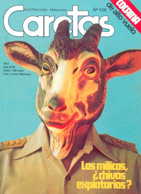 Otra portada que molestó a los militares.