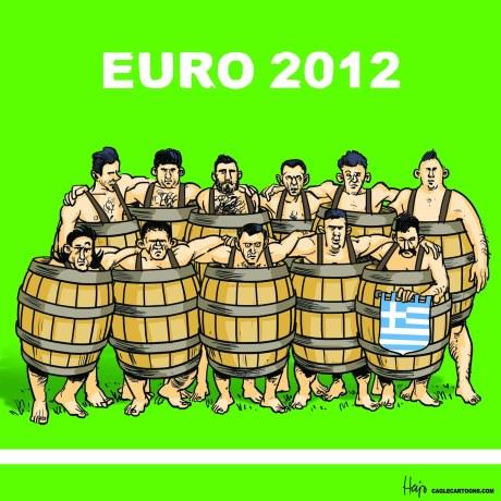 Eurocopa 2012 en crisis