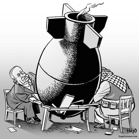 Israel y Palestina buscan la paz