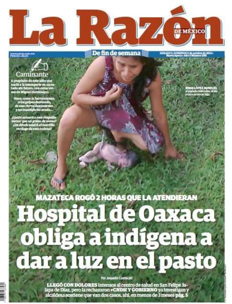 La Razón-México 5-6 de octubre del 2013