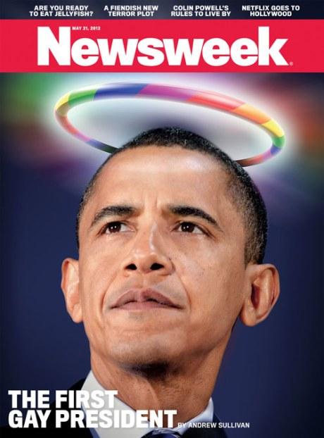 Obama Gay-Newsweek